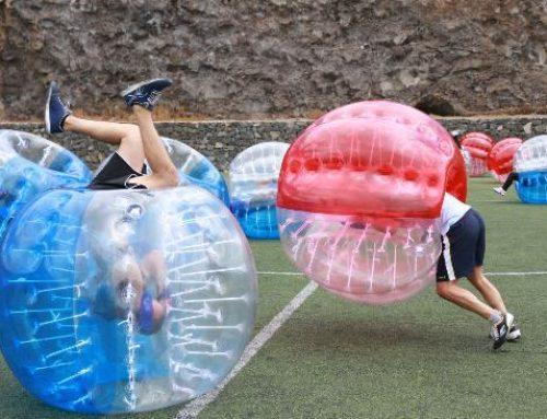 Fútbol burbuja para niños